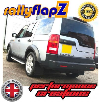 LAND ROVER DISCOVERY 3  BLACK MUDFLAPS
